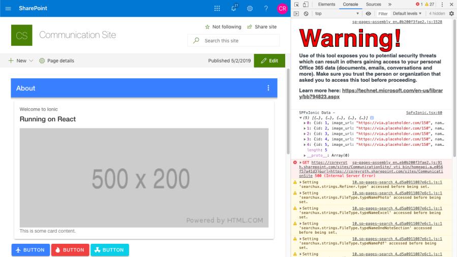 SPFx Basics: Debugging web parts on anypage