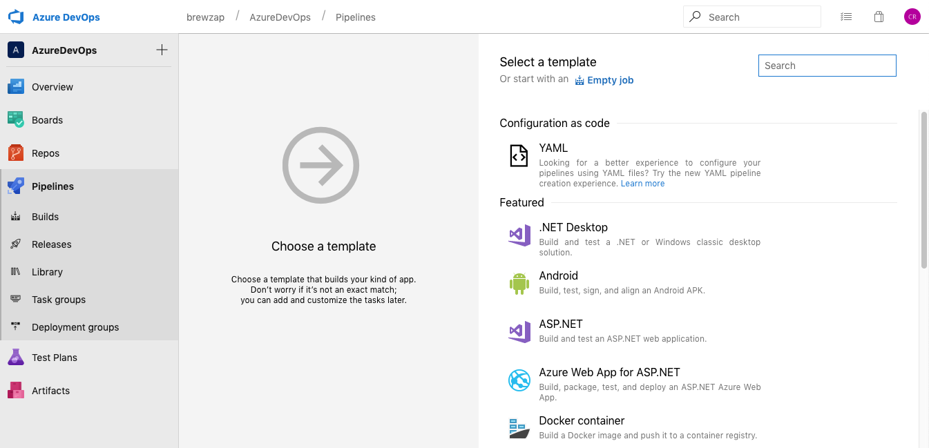 How to: Setup CI / CD in Azure DevOps with the help of SPFx